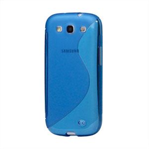 Billede af Samsung Galaxy S3 TPU S-line cover fra inCover - blå