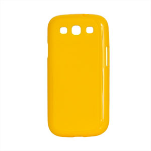 Billede af Samsung Galaxy S3 TPU cover fra inCover - gul