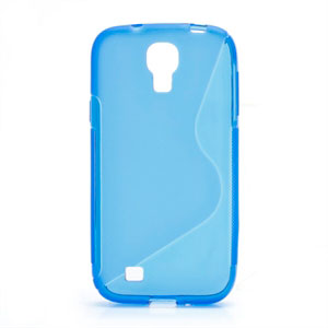 Image of   Samsung Galaxy S4 TPU S-line cover fra inCover - blå