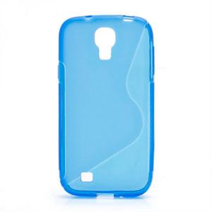 Billede af Samsung Galaxy S4 TPU S-line cover fra inCover - blå
