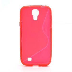 Image of   Samsung Galaxy S4 TPU S-line cover fra inCover - rød