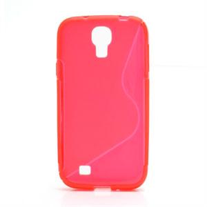 Billede af Samsung Galaxy S4 TPU S-line cover fra inCover - rød