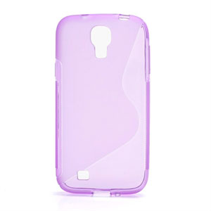 Image of   Samsung Galaxy S4 TPU S-line cover fra inCover - lilla