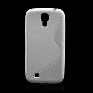 Image of   Samsung Galaxy S4 TPU S-line cover fra inCover - hvid