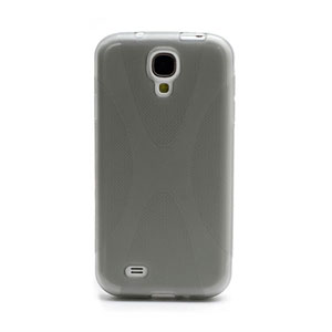Image of   Samsung Galaxy S4 TPU X-line cover fra inCover - grå