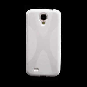 Image of   Samsung Galaxy S4 TPU X-line cover fra inCover - hvid