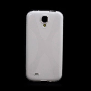 Image of   Samsung Galaxy S4 TPU X-line cover fra inCover - gennemsigtig