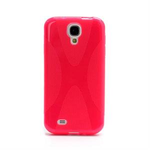 Billede af Samsung Galaxy S4 TPU X-line cover fra inCover - rosa