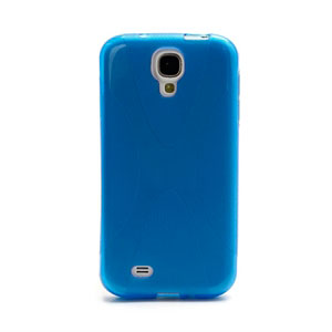 Image of   Samsung Galaxy S4 TPU X-line cover fra inCover - blå