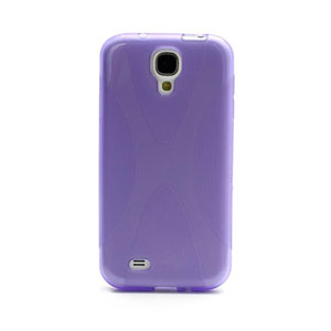 Image of   Samsung Galaxy S4 TPU X-line cover fra inCover - lilla