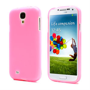 Image of   Samsung Galaxy S4 TPU Cover - Pink