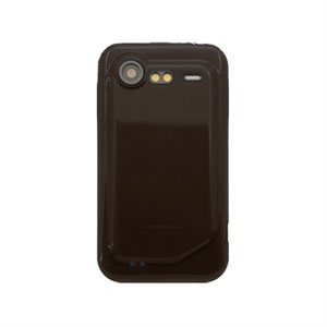 HTC Incredible S TPU cover fra inCover - sort