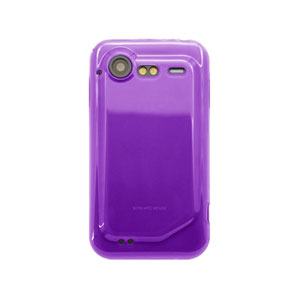 HTC Incredible S TPU cover fra inCover - lilla