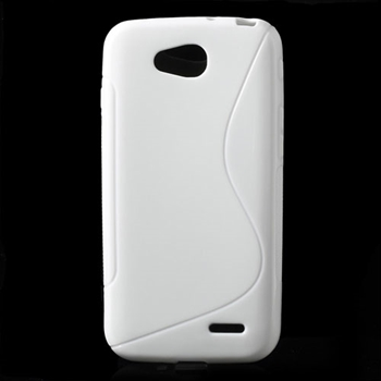 LG L90 inCover TPU S-Line Cover - Hvid