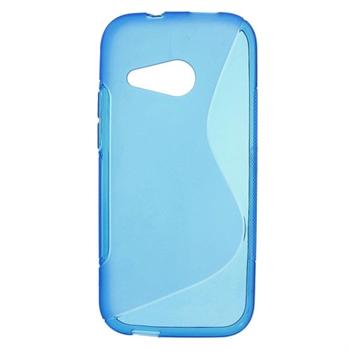 HTC One Mini 2 inCover TPU S-line Cover - Blå