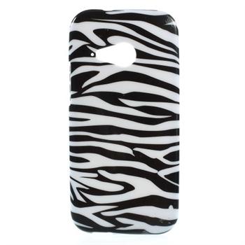 Image of HTC One Mini 2 inCover Design TPU Cover - Zebra