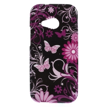 Image of HTC One Mini 2 inCover Design TPU Cover - Butterfly Flowers