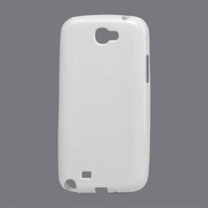 Billede af Samsung Galaxy Note 2 TPU cover fra inCover - hvid