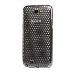 Billede af Samsung Galaxy Note 2 TPU Diamant cover fra inCover - gennemsigtig