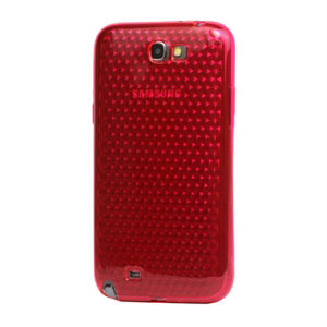 Billede af Samsung Galaxy Note 2 TPU Diamant cover fra inCover - rosa
