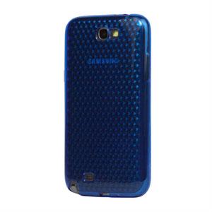Billede af Samsung Galaxy Note 2 TPU Diamant cover fra inCover - blå