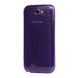 Billede af Samsung Galaxy Note 2 TPU Diamant cover fra inCover - lilla