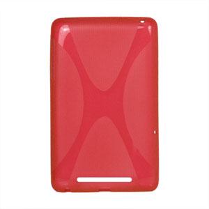Image of Google Nexus 7 TPU X-line cover - rød