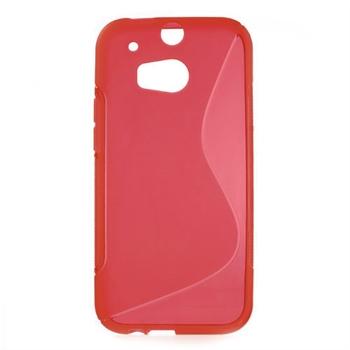 Billede af HTC One M8 inCover TPU S-line Cover - Rød