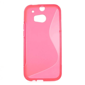 Billede af HTC One M8 inCover TPU S-line Cover - Rosa