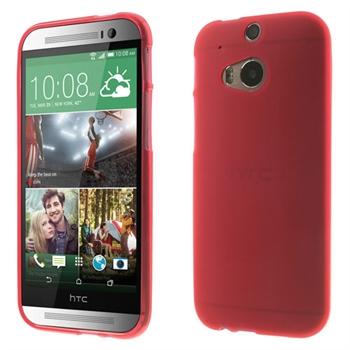 Billede af HTC One M8 inCover TPU Cover - Rød