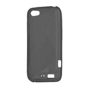 Billede af HTC One V TPU S-line cover fra inCover - sort