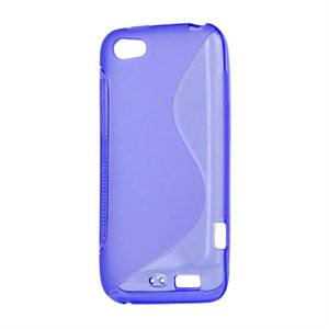 Billede af HTC One V TPU S-line cover fra inCover - blå