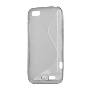 Billede af HTC One V TPU S-line cover fra inCover - grå