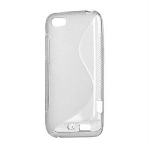 Billede af HTC One V TPU S-line cover fra inCover - gennemsigtig
