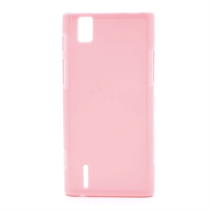 Huawei Ascend P2 inCover TPU Cover - Pink