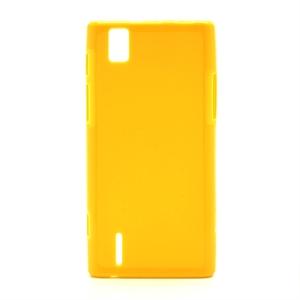 Huawei Ascend P2 inCover TPU Cover - Gul