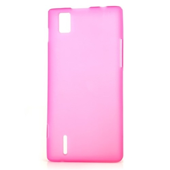Huawei Ascend P2 inCover TPU Cover - Rosa