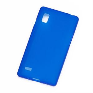 Image of LG Optimus L9 TPU cover fra inCover - blå