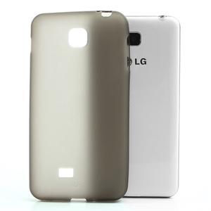 Image of LG Optimus F5 TPU cover fra inCover - grå