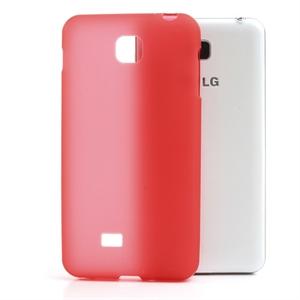 Image of LG Optimus F5 TPU cover fra inCover - rød