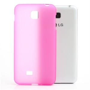 Image of LG Optimus F5 TPU cover fra inCover - rosa