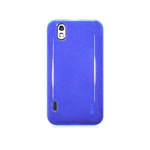 Image of LG Optimus Black TPU cover fra inCover - blå