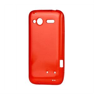 HTC Radar TPU cover fra inCover - rød