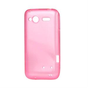 HTC Radar TPU cover fra inCover - pink