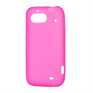 Image of HTC Rhyme TPU cover fra inCover - pink