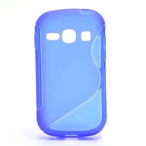 Billede af Samsung Galaxy Fame inCover S-line TPU Cover - Blå