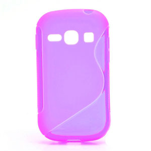 Billede af Samsung Galaxy Fame inCover S-line TPU Cover - Lilla