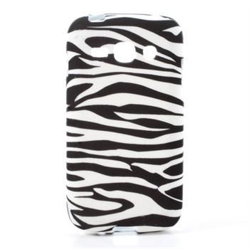 Billede af Samsung Galaxy Ace 3 inCover TPU Cover - Zebra