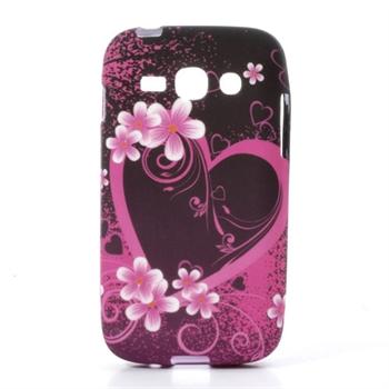 Billede af Samsung Galaxy Ace 3 inCover TPU Cover - Heart & Flower