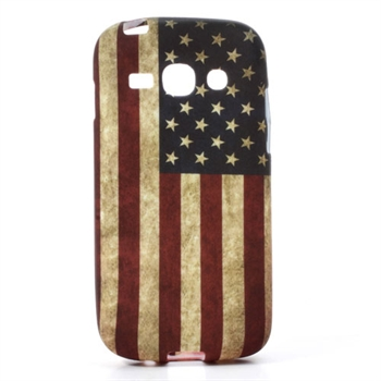 Billede af Samsung Galaxy Ace 3 inCover TPU Cover - Stars & Stripes
